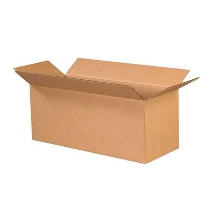 "Corrugated Boxes, 20 x 8 x 8"", Kraft"
