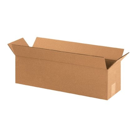 "Corrugated Boxes, 22 x 6 x 6"", Kraft"