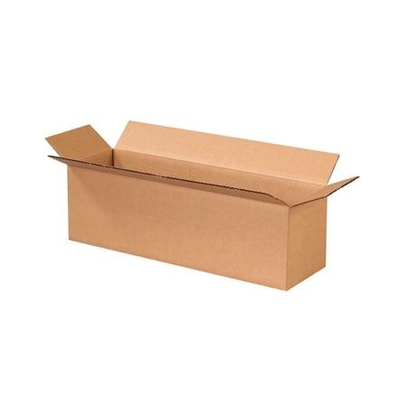 "Corrugated Boxes, 20 x 6 x 6"", Kraft"