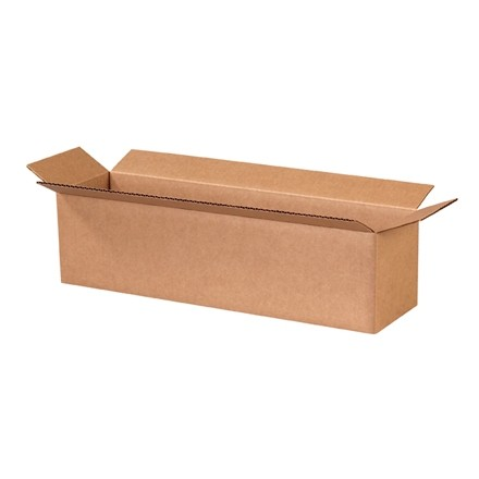 "Corrugated Boxes, 20 x 5 x 5"", Kraft"