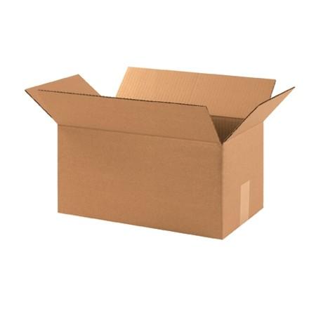 "Corrugated Boxes, 17 x 6 x 6"", Kraft"