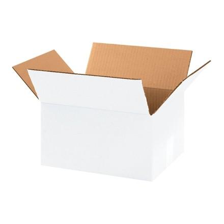 "Corrugated Boxes, 11 1/4 x 8 3/4 x 4"", White"