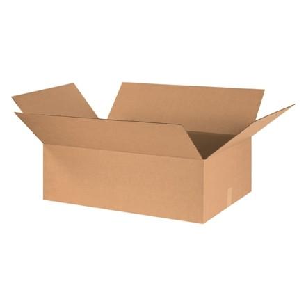 "Corrugated Boxes, 30 x 24 x 10"", Kraft"