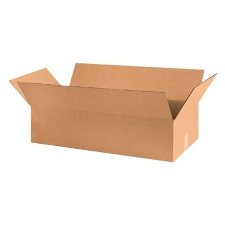 "Corrugated Boxes, 30 x 14 x 7"", Kraft"