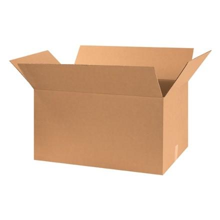 "Corrugated Boxes, 30 x 18 x 16"", Kraft"