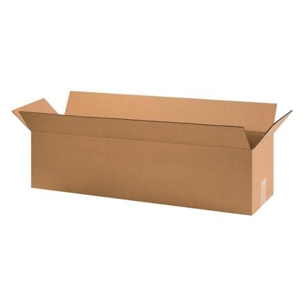 "Corrugated Boxes, 30 x 8 x 8"", Kraft"
