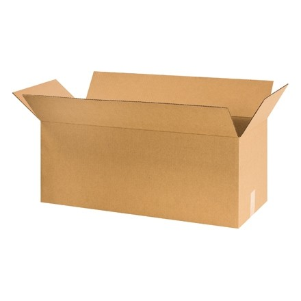 "Corrugated Boxes, 30 x 13 x 13"", Kraft"