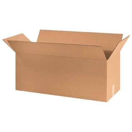 "Corrugated Boxes, 30 x 10 x 10"", Kraft"