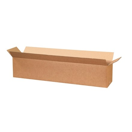 "Corrugated Boxes, 30 x 6 x 6"", Kraft"