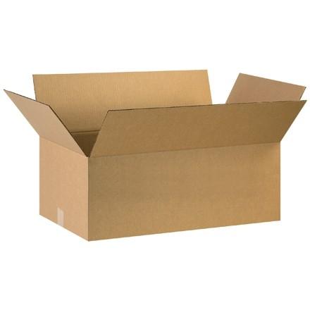 "Corrugated Boxes, 29 x 17 x 7"", Kraft"