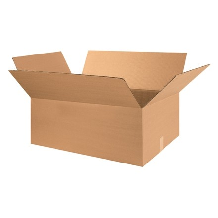 "Corrugated Boxes, 28 x 20 x 12"", Kraft"