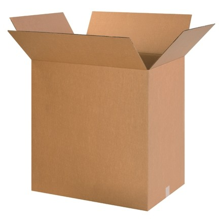 "Corrugated Boxes, 24 x 18 x 24"", Kraft"