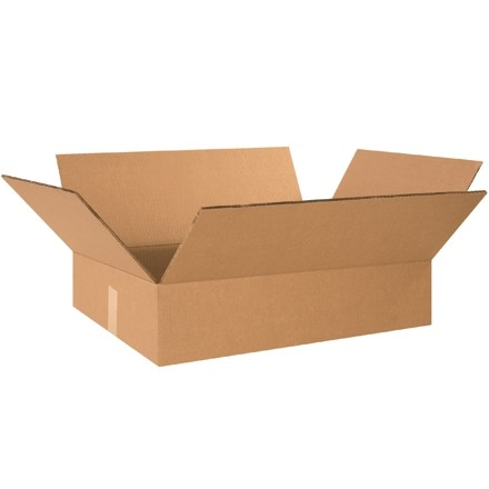"""Double Wall Corrugated Boxes, 24 x 18 x 6"""", 48 ECT"""