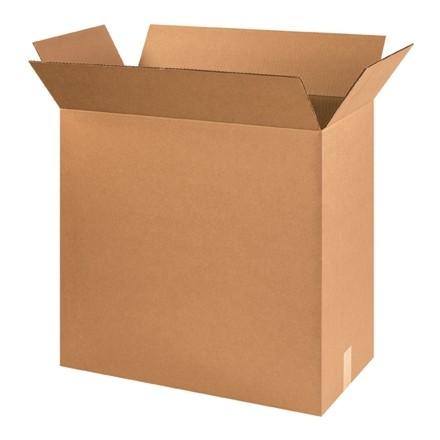"Corrugated Boxes, 24 x 14 x 20"", Kraft"