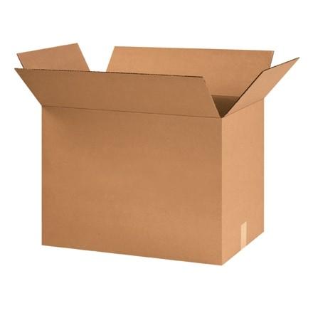 "Corrugated Boxes, 24 x 14 x 18"", Kraft"