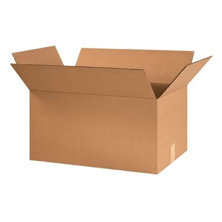 "Corrugated Boxes, 24 x 14 x 12"", Kraft"