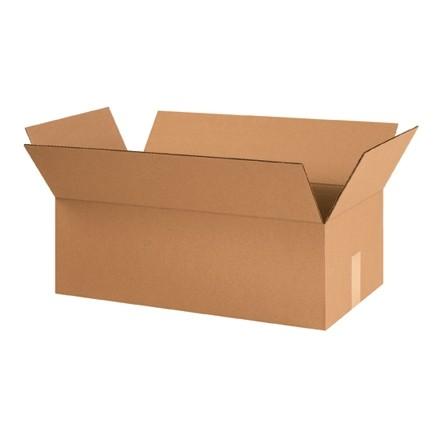 "Corrugated Boxes, 24 x 12 1/2 x 8"", Kraft"