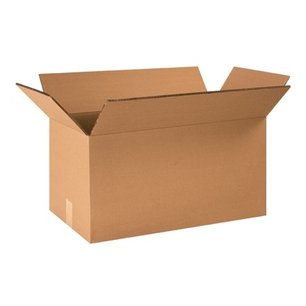 """Double Wall Corrugated Boxes, 24 x 12 x 12"""", 48 ECT"""