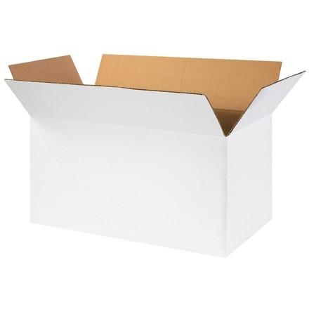 "Corrugated Boxes, 24 x 12 x 12"", White"