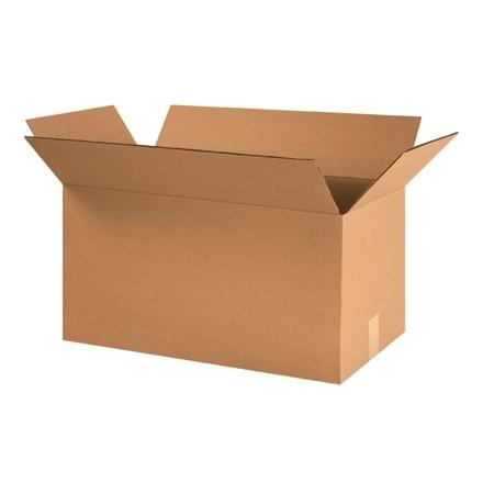 "Corrugated Boxes, 24 x 12 x 12"", Kraft"