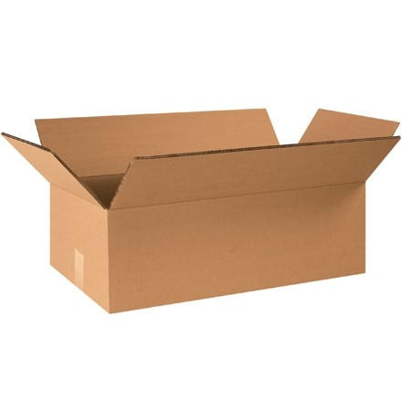 """Double Wall Corrugated Boxes, 24 x 12 x 8"""", 48 ECT"""