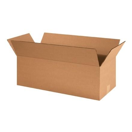 "Corrugated Boxes, 24 x 10 x 8"", Kraft"