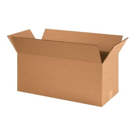 "Corrugated Boxes, 24 x 10 x 10"", Kraft"