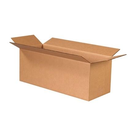 "Corrugated Boxes, 24 x 9 x 9"", Kraft"