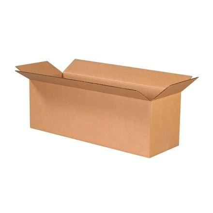"Corrugated Boxes, 24 x 8 x 8"", Kraft"