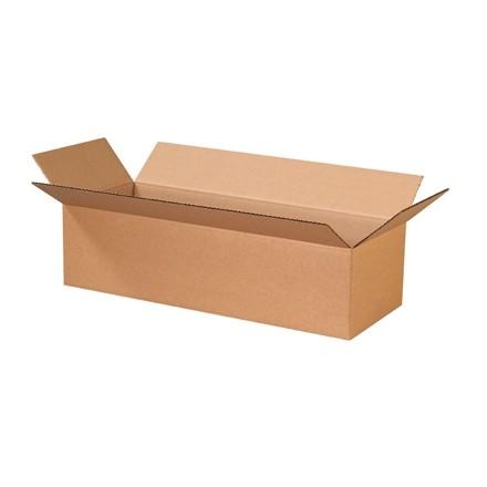 "Corrugated Boxes, 24 x 9 x 6"", Kraft"