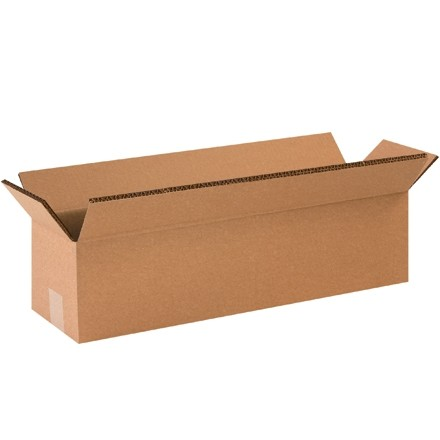 "Double Wall Corrugated Boxes, 24 x 6 x 6"", 48 ECT"