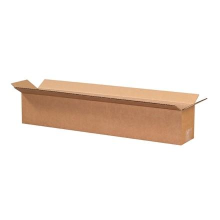"Corrugated Boxes, 24 x 4 x 4"", Kraft"
