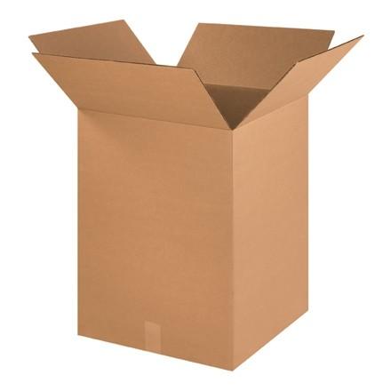 "Corrugated Boxes, 18 x 18 x 24"", Kraft"