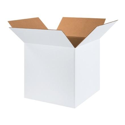 "White Corrugated Boxes, 18 x 18 x 18"", Cube"