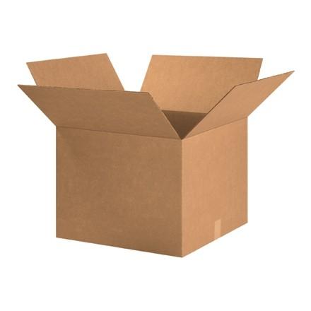 "Corrugated Boxes, 18 x 18 x 15"", Kraft"