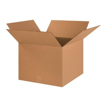 "Corrugated Boxes, 18 x 18 x 14"", Kraft"