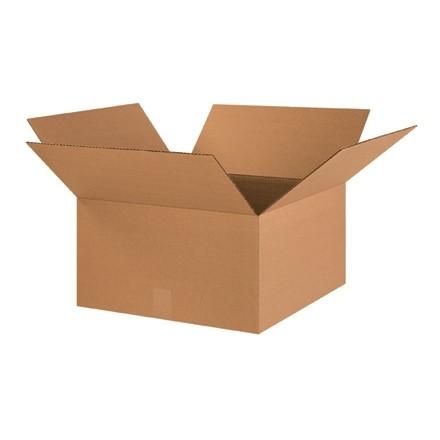 "Corrugated Boxes, 18 x 18 x 10"", Kraft"