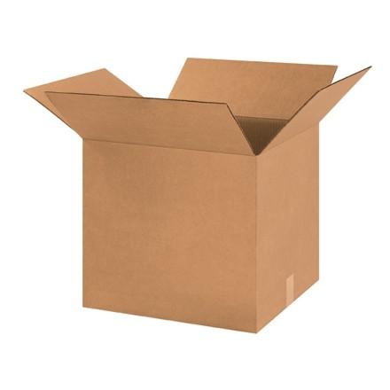 "Corrugated Boxes, 18 x 16 x 16"", Kraft"