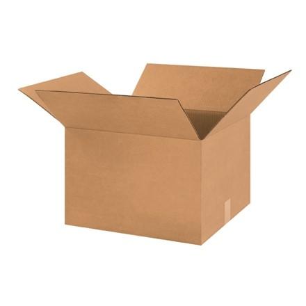 "Corrugated Boxes, 18 x 16 x 12"", Kraft"