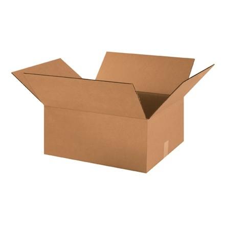 "Corrugated Boxes, 18 x 16 x 8"", Kraft"