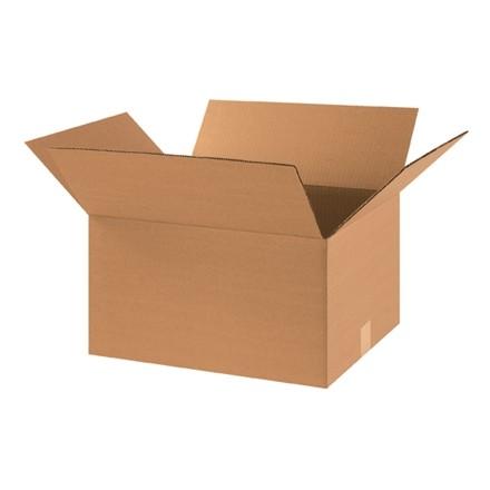 "Corrugated Boxes, 18 x 14 x 10"", Kraft"