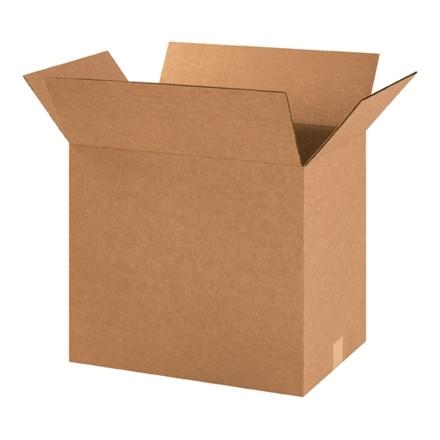 "Corrugated Boxes, 18 x 12 x 16"", Kraft"
