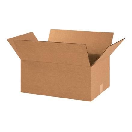 "Corrugated Boxes, 18 x 12 x 8"", Kraft"