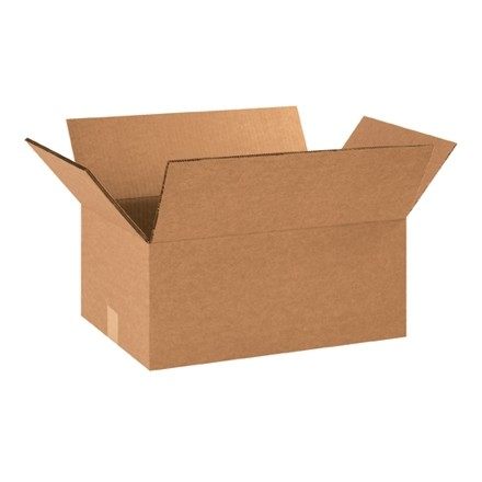 "Double Wall Corrugated Boxes, 18 x 12 x 6"", 48 ECT"
