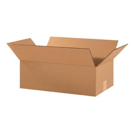 "Corrugated Boxes, 18 x 10 x 6"", Kraft"