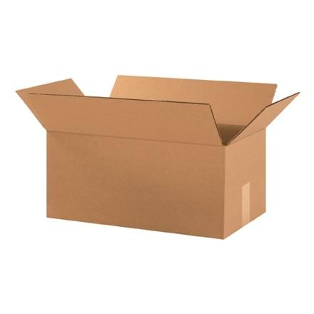 "Corrugated Boxes, 18 x 10 x 8"", Kraft"