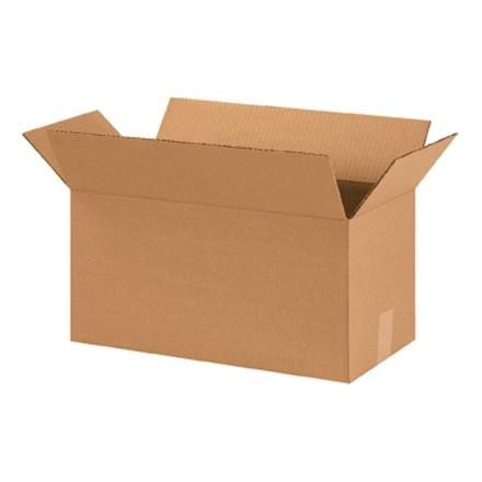 "Corrugated Boxes, 18 x 9 x 9"", Kraft"
