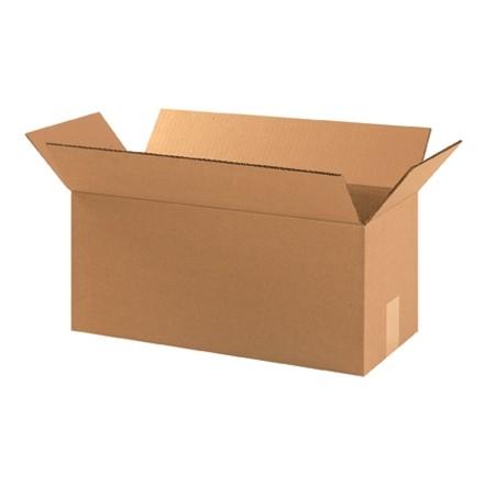 "Corrugated Boxes, 18 x 8 x 8"", Kraft"