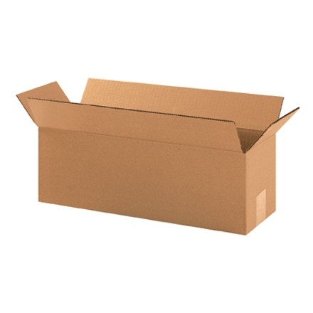 "Corrugated Boxes, 18 x 6 x 6"", Kraft"