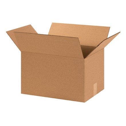 "Corrugated Boxes, 15 x 11 x 9"", Kraft"